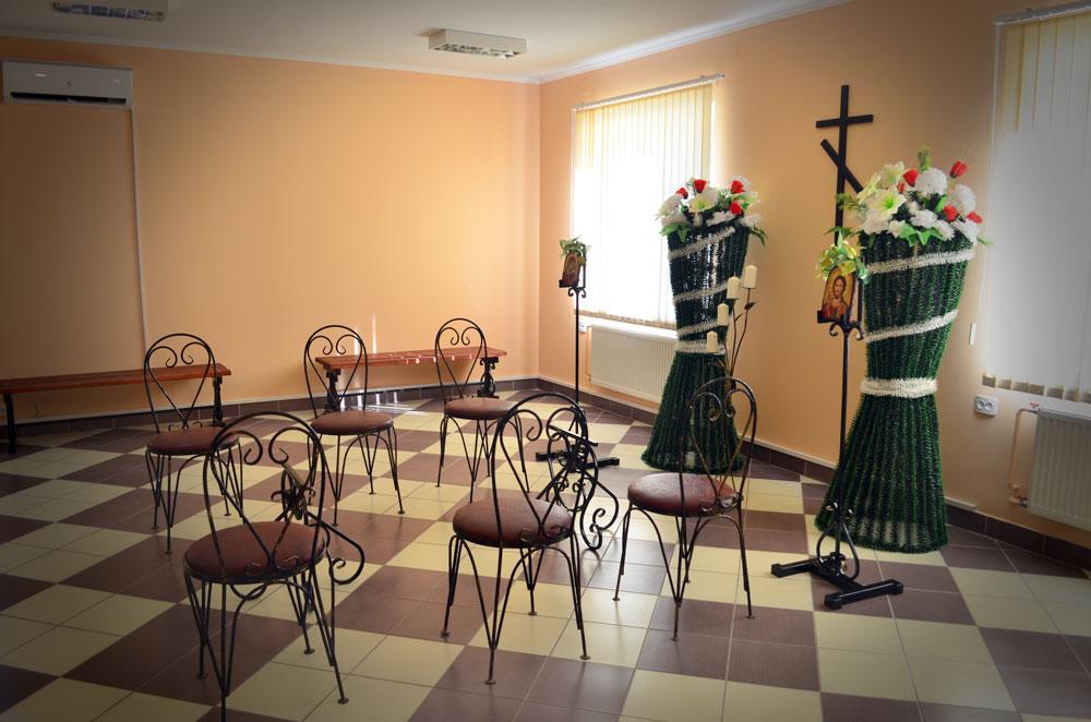 Ритуальный зал в Кобрине