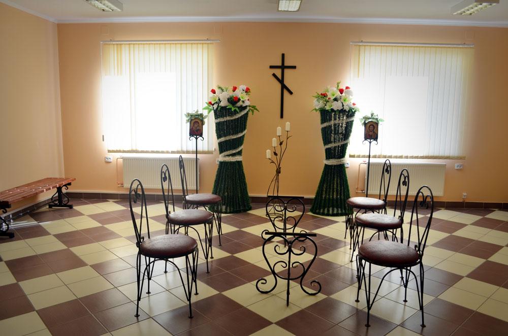 Ритуальный зал в Кобрине, ул. Вертолетная